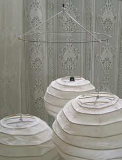 An Easy Diy Rice Paper Lanterns Chandelier Tutorial ...
