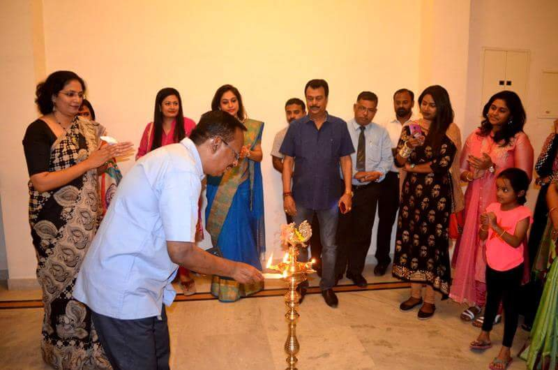 i Rise Edition 4 - Lamp Lighting Ceremony at Art Houz Coimbatore in Jenneys Residency
