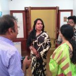 Dr Kalki Subramaniam with Shobna Premkumar and Guests