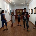 Children make art galleries come alive