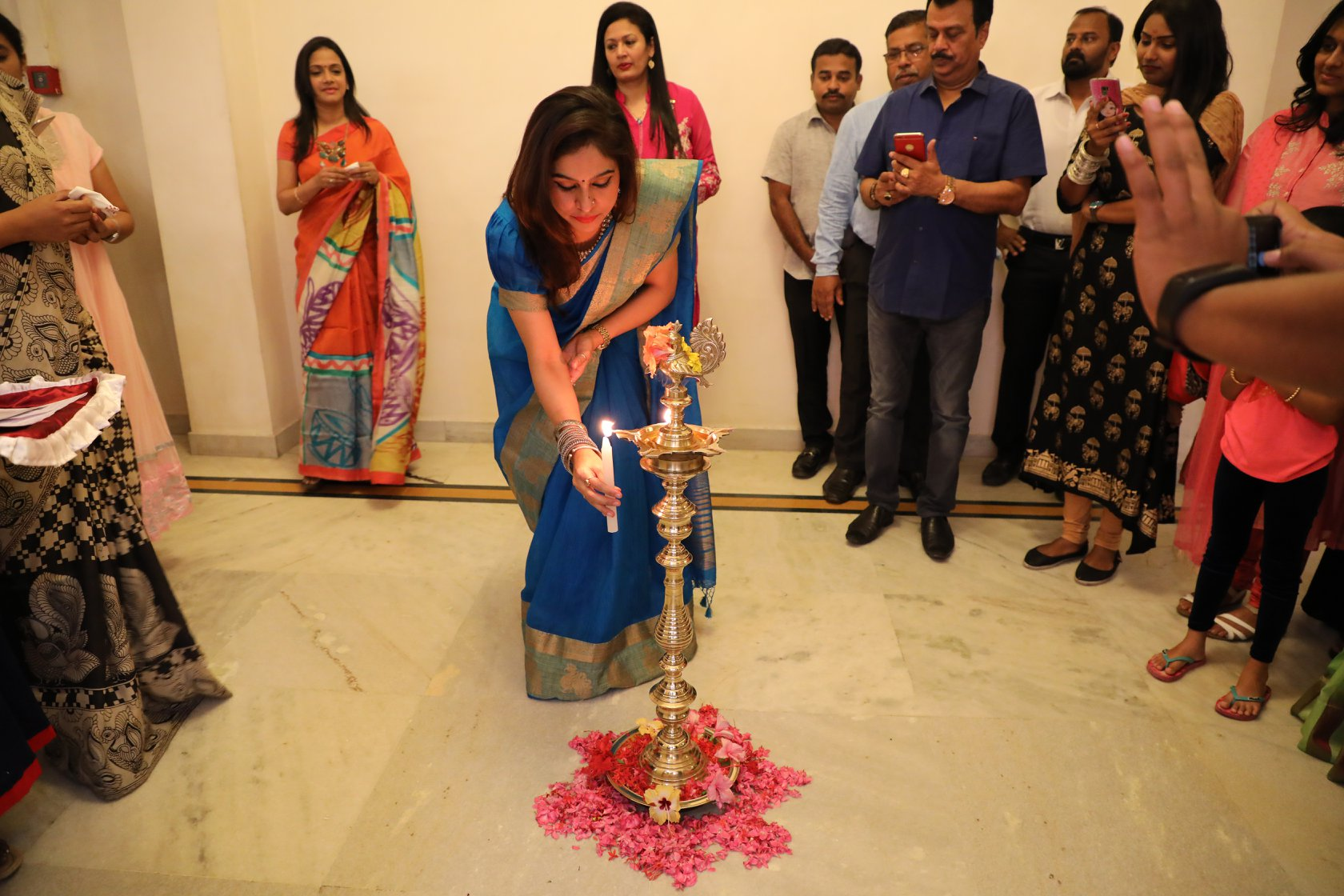 Lamp Lighting Inaugural Ceremony at Art Houz Coimbatore