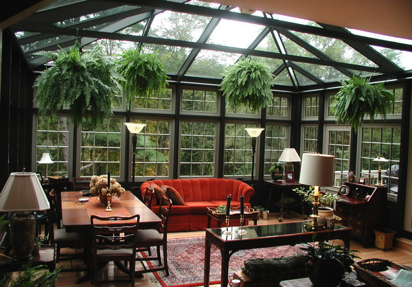 Sunroom conservatory as formal living areas are great for enteraining and living